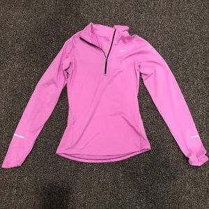 Nike dri-fit pullover half zip